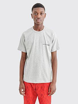 Comme des Garçons Shirt Chest Logo T-shirt Grey