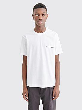 Comme des Garçons Shirt Chest Logo T-shirt White
