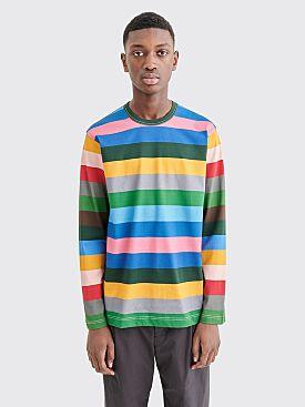 Comme des Garçons Shirt LS Stripe T-shirt Multi Color