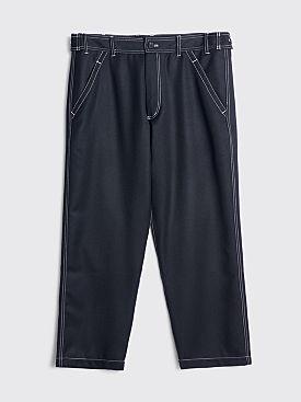 Comme des Garçons Shirt Wool Work Pants Black