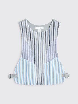 Comme des Garçons Shirt Striped Vest Blue / Grey