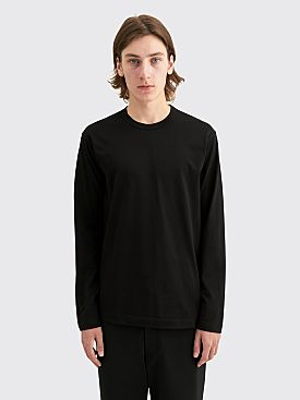 Comme des Garçons Shirt Back Logo Long Sleeve T-shirt Black