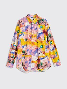 Comme des Garçons Shirt Poplin Shirt Futura Print B