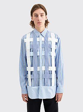 Comme des Garçons Shirt Mixed Pattern Panel Shirt