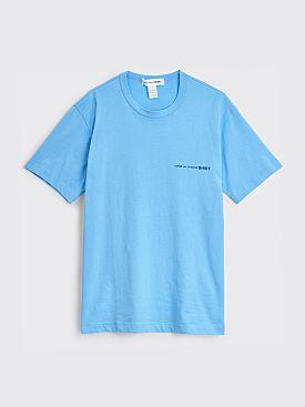 Comme des Garçons Shirt Chest Logo T-shirt Blue