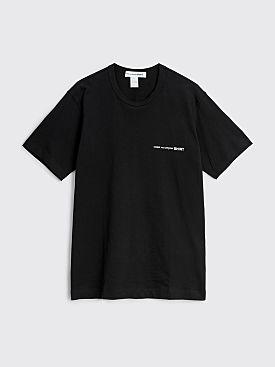 Comme des Garçons Shirt Chest Logo T-shirt Black