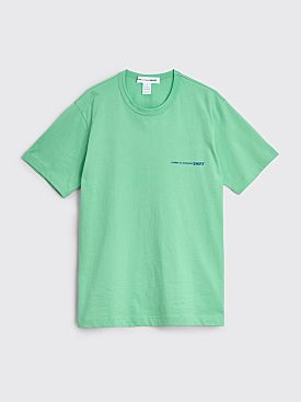 Comme des Garçons Shirt Chest Logo T-shirt Green