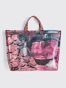 Comme des Garçons Shirt x Yue Minjun Tote Bag Print E