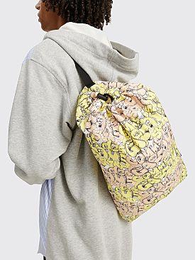 Comme des Garçons Shirt x KAWS Drawstring Bag Yellow