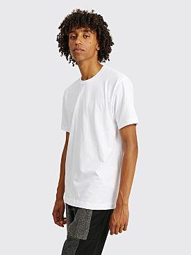 Comme des Garçons Shirt Neck Logo T-shirt White