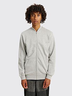 Comme des Garçons Shirt x KAWS Jersey Bomber Sweatshirt Grey