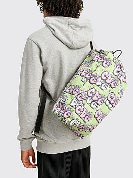 Comme des Garçons Shirt x KAWS Drawstring Bag Green / Pink