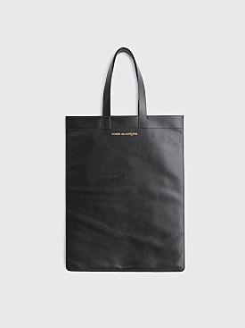 Comme des Garçons Wallet Leather Bag Black