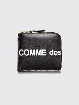 Comme des Garçons Wallet SA3100 Huge Logo Black