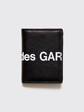 Comme des Garçons Wallet SA0641 Huge Logo Black