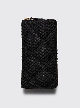Comme des Garçons Wallet SA0110 Fat Tortoise Black