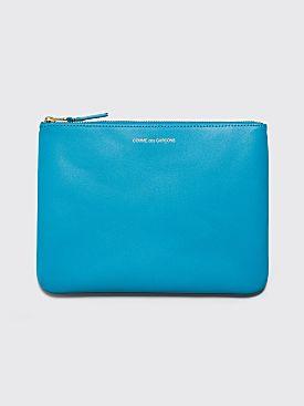 Comme des Garçons Wallet SA5100 Blue