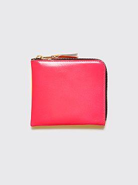 Comme des Garçons Wallet SA3100 Super Fluo Pink / Yellow