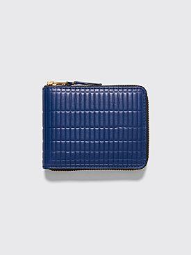 Comme des Garçons Wallet SA7100 Brick Line Blue