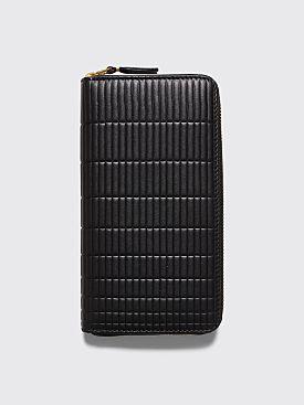 Comme des Garçons Wallet SA0111 Brick Line Black
