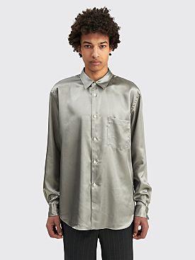 Comme des Garçons Homme Plus Titanium Shirt Silver