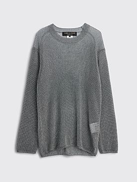 Comme des Garçons Homme Plus Metallic Sweater Silver