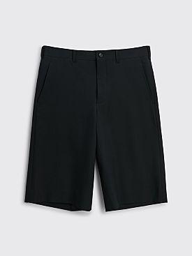 Comme des Garçons Homme Plus Long Wool Shorts Black