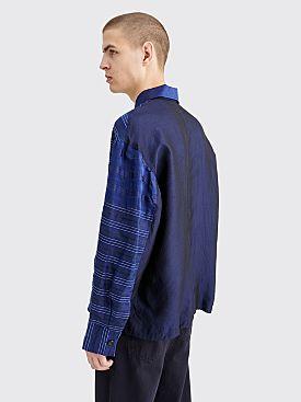 CLAMP Vintage Silk Jacket Dark Navy