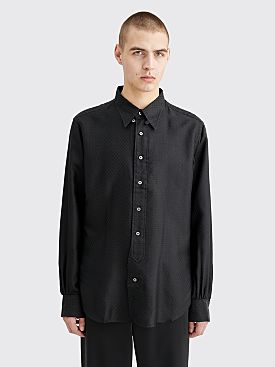 CLAMP Silk Shirt Diamond Black