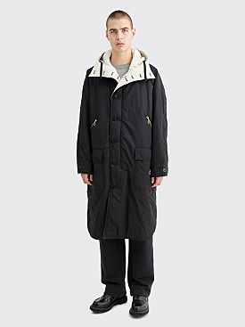 CLAMP Reversible Parka Coat White / Black