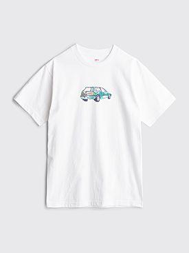 Classic Griptape Bobmobile T-shirt White