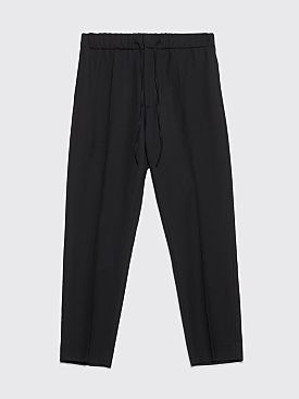 CMMN SWDN Stan Wool Pants Black