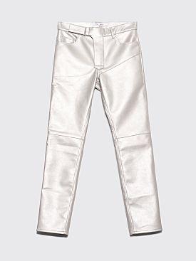 CMMN SWDN Luke Biker Pants Silver