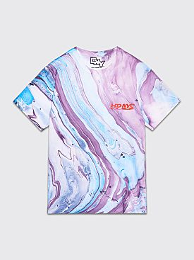 Chinese New Year HDNYC Marbled T-shirt Purple