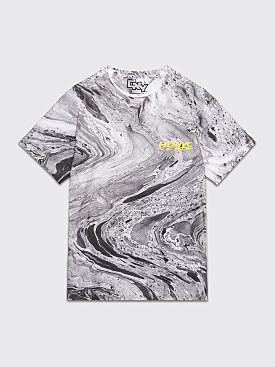 Chinese New Year HDNYC Marbled T-shirt Black