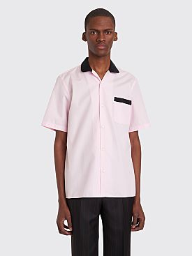 Cobra S.C. Cabrio Short Sleeve Poplin Shirt Pink / Black