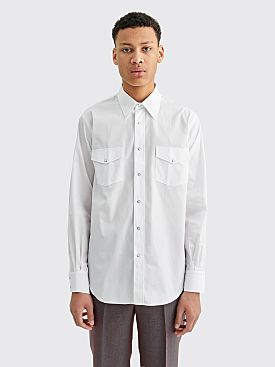 Cobra S.C. Ranger Cotton Poplin Shirt White