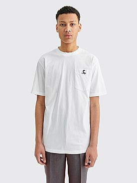 Cobra S.C. Short Sleeve Logo T-shirt White