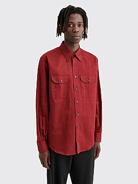 Cobra S.C. Double Pocket Shirt Brick Red