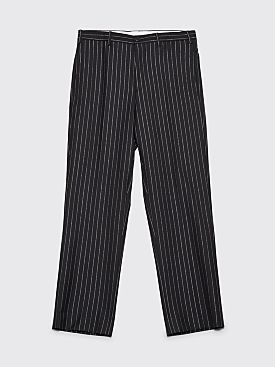 Cobra S.C. Classic Wool Pants Metallic Pinstripe Black