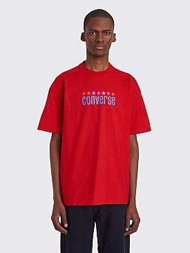 Converse x ASAP Nast Wrdmrk Logo T-shirt Flame Red