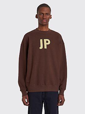 Converse x ASAP Nast JP Logo Sweatshirt Chocolate Brown