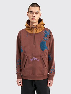 Converse x Bandulu Hooded Sweatshirt Dark Brown