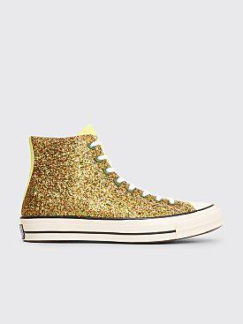 Converse x JW Anderson Chuck 70 HI Glitter Gold / Silver