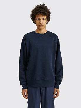 Converse x Kim Jones Crewneck Sweatshirt Black Iris
