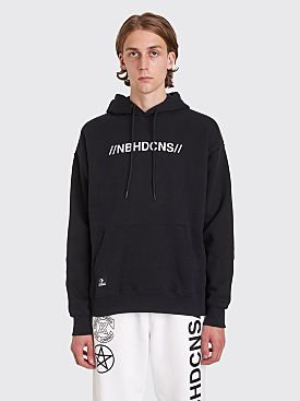 Converse x Neighborhood Hooded Logo Sweatshirt Black