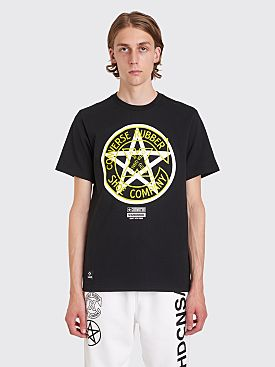 Converse x Neighborhood Logo T-shirt Black