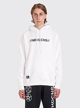 Converse x Neighborhood Hooded Logo Sweatshirt White