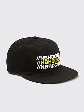 Converse x Neighborhood Six Panel Hat Black