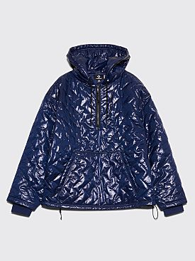 Converse x P.A.M. Quilted Hooded Anorak Medieval Blue